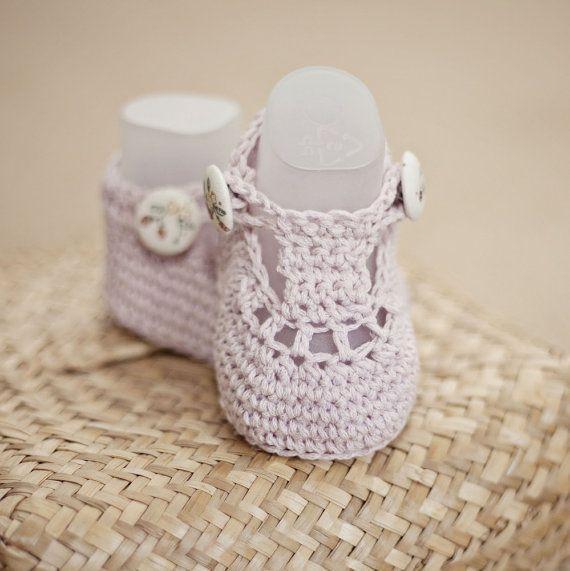Crochet PATTERN - Charlotte Booties   Zapatos tejidos, Bebe y Zapatos
