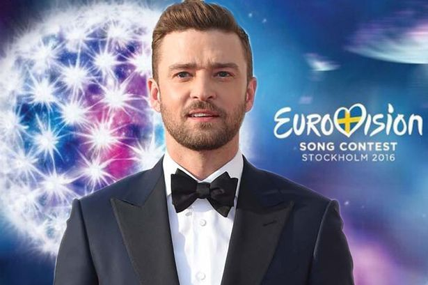 Justin Timberlake - Eurovision Song contest 2016 Stockholm Sweden