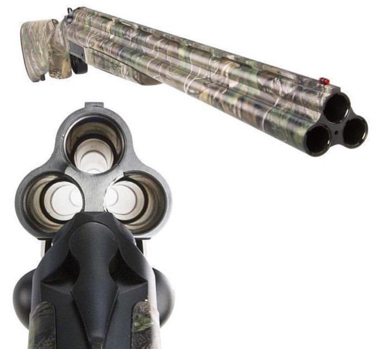 Triple Barrel ShotGun | Shotguns | Pinterest | Shotguns ...