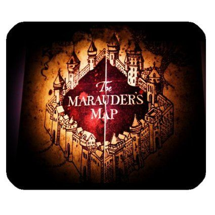 Harry Potter Marauder S Map Tapis De Souris Gaming Customized