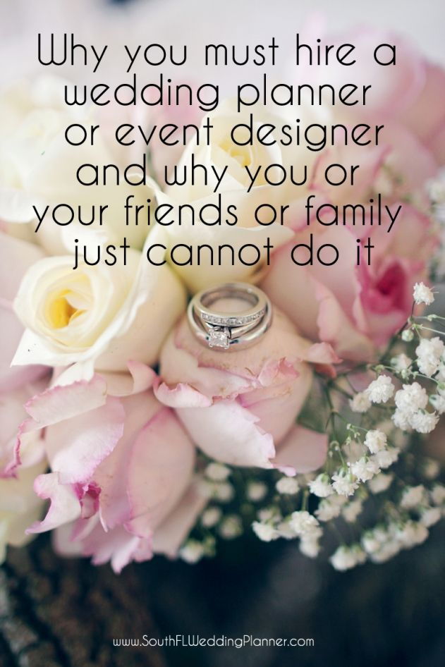 4 Reasons why you must hire a wedding planner or event designer
