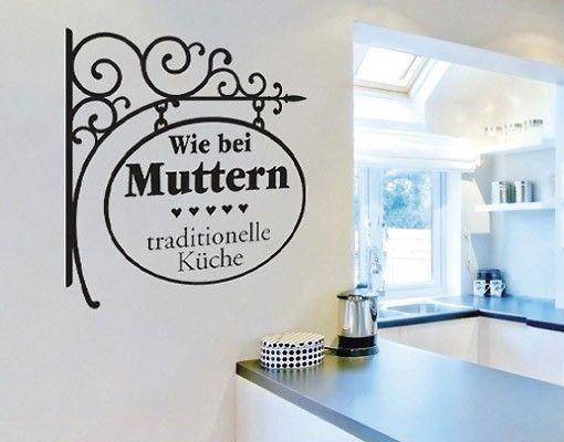 Wandtattoo NoBR159 bei Muttern #Küche #kitchen #essen #food #kochen