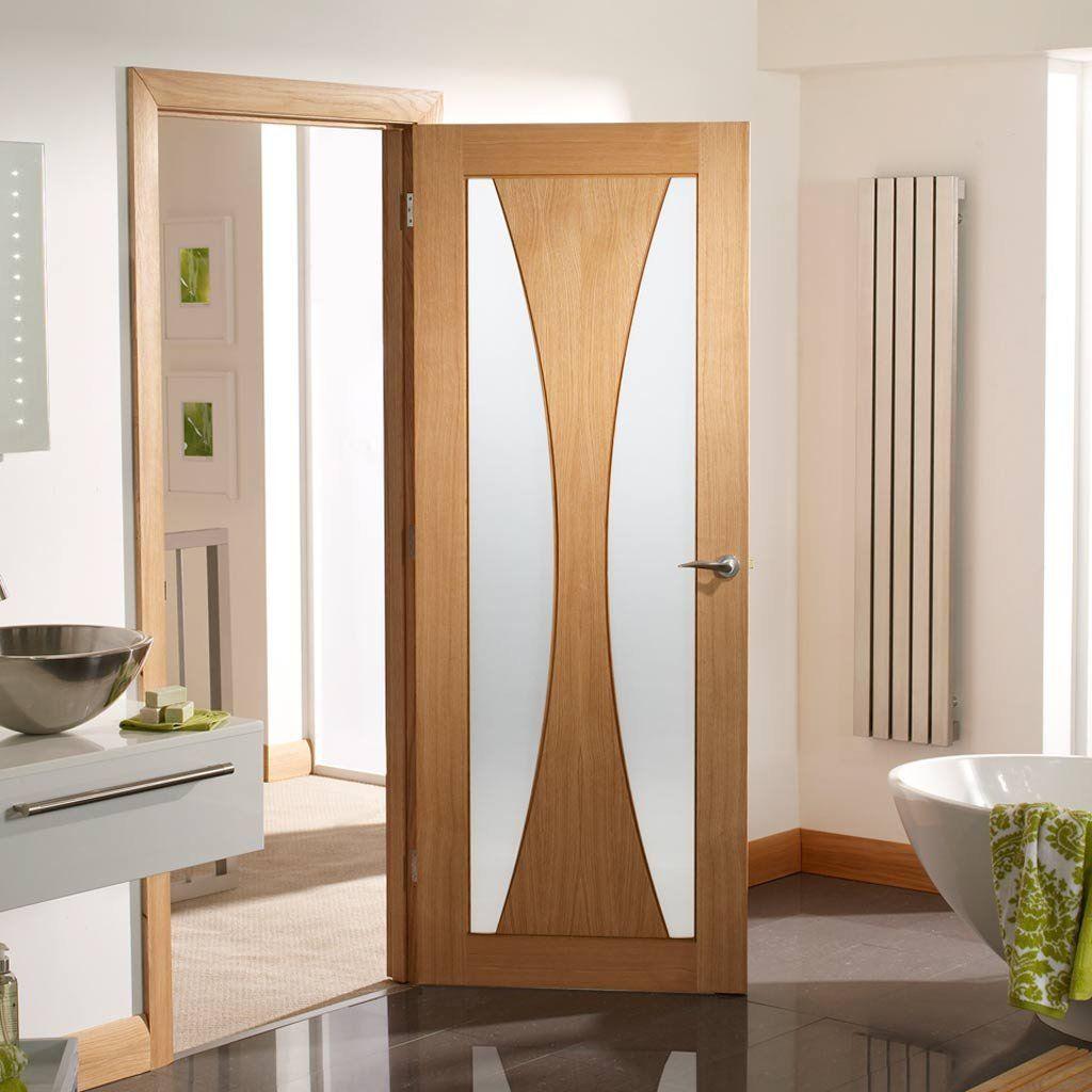 Verona oak door with obscure safety glass door sets verona oak door with obscure safety glass planetlyrics Gallery