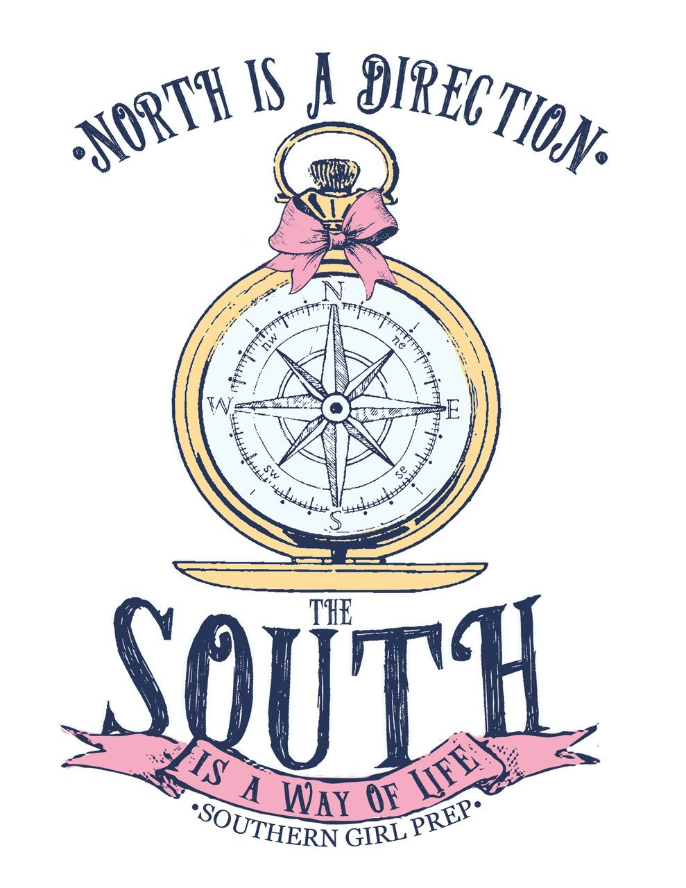 Compass Sticker Stickers Preppy Stickers Stickers Preppy Quotes