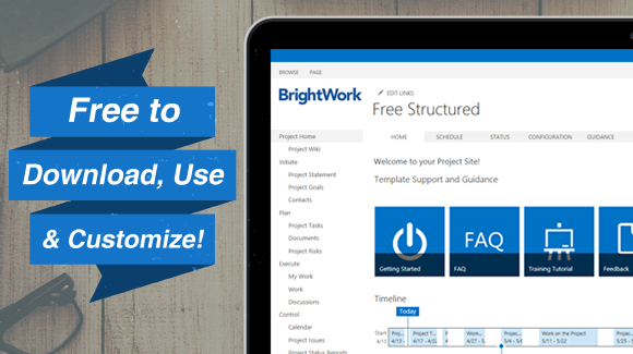 Free Sharepoint Project Management Templates  Work Ideas