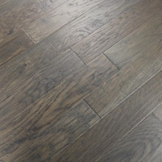 Best Hickory Grey Smoke 3 8 X 5 In 2020 Engineered Hardwood 400 x 300