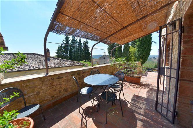 Pergola Vakantiehuis in Lecchi in Chianti Siena