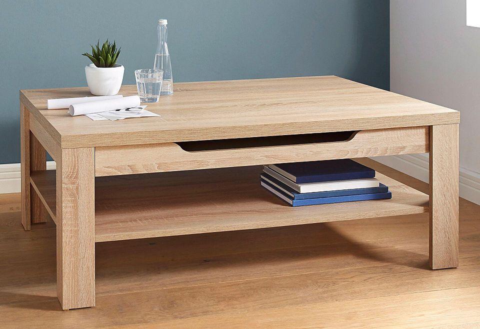 couchtisch mit schubkasten und ablageboden jetzt bestellen unter. Black Bedroom Furniture Sets. Home Design Ideas