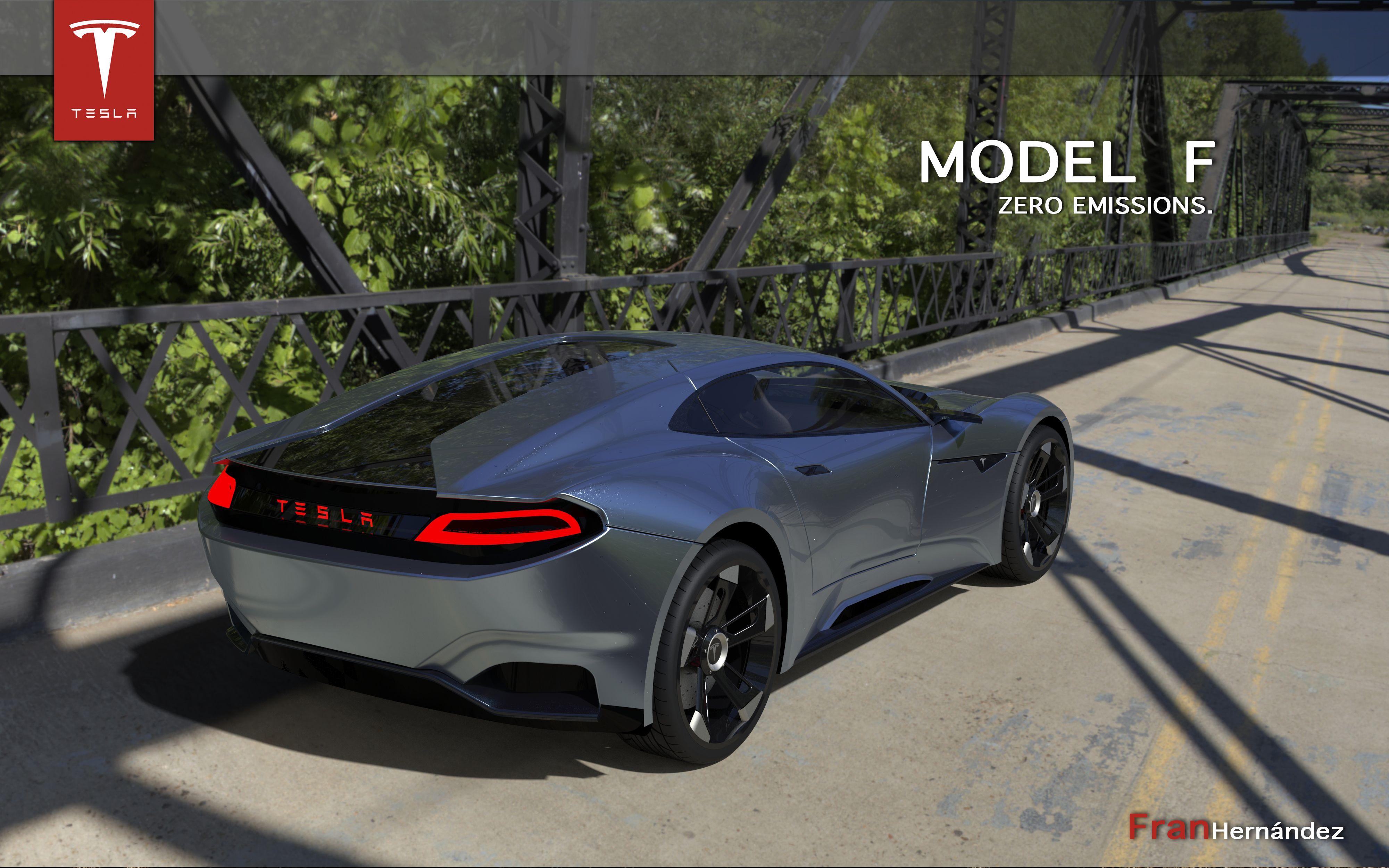 Tesla Model F Concept 2015 Fran Hern 225 Ndez My Designs