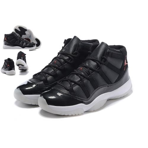 wholesale dealer d5633 bdc33 Womens Air Jordan 11 (XI) Retro 72-10 Black Gym Red-
