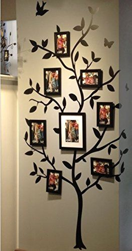 Tree Of Life Wall Decal 65pc Reusable Wall Decal Accents Just