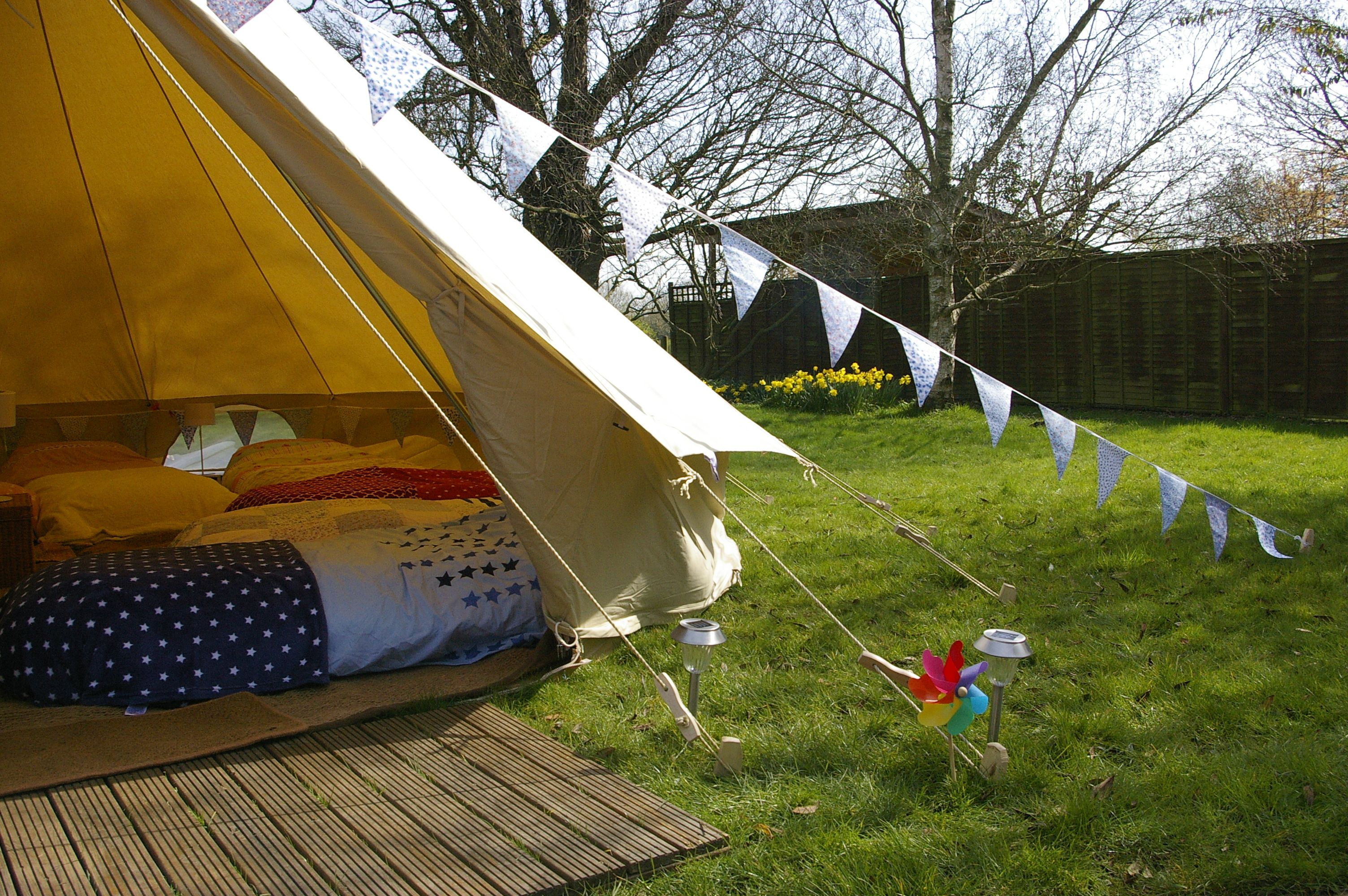 Childrens Sleepover Birthday Party Glamping Gloucestershire