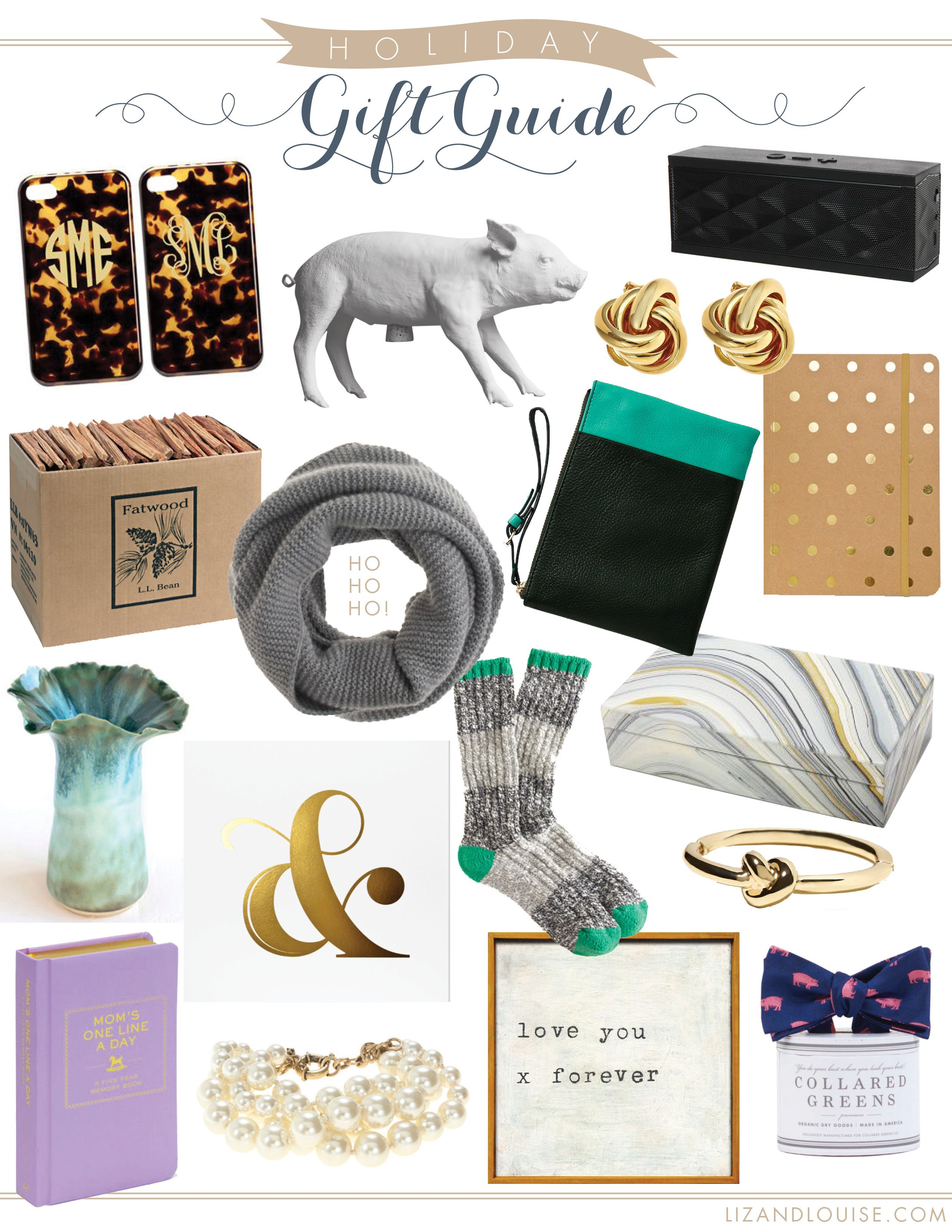 Holiday Gift Guide Liz & Louise http//lizandlouise