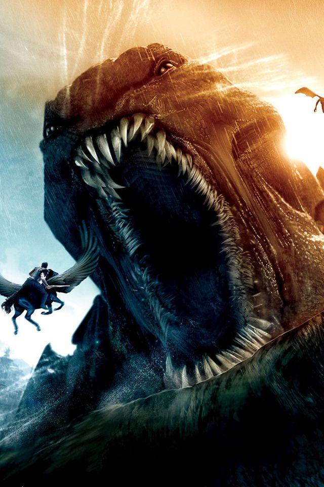 Clash Of The Titans Kraken Iphone Wallpaper Ira De Titanes Furia De Titanes Criaturas Mitologicas
