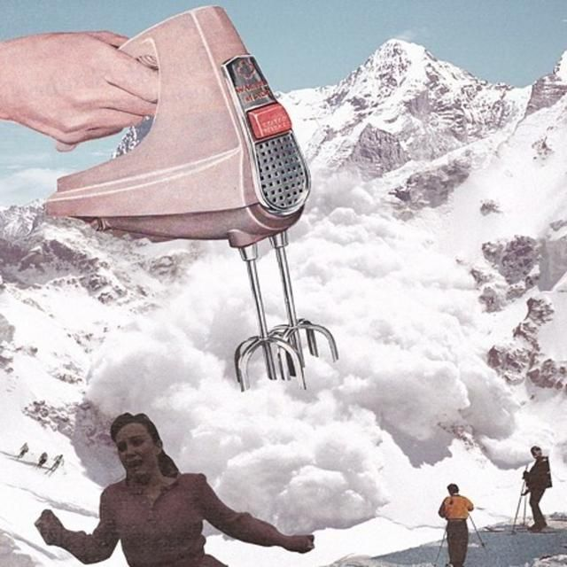 Artist Combines Old, Vintage Photographs From The Past To Create Surreal Madness (38 Pics)