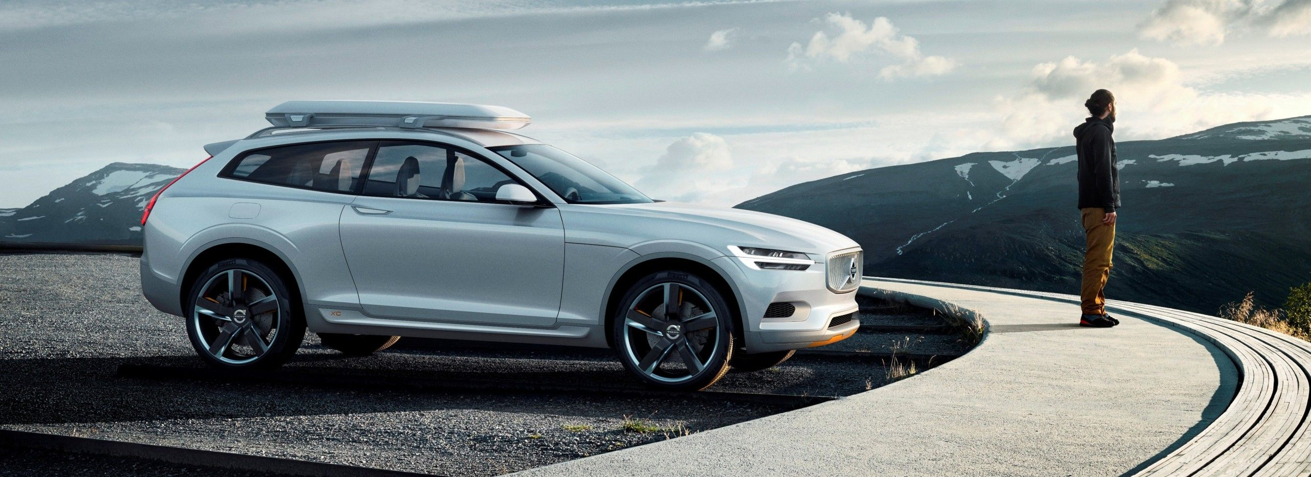 First of a series of three concept cars concept coupe represents the next generation of volvo models