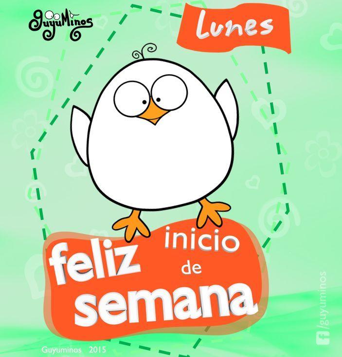 Lunes Feliz inicio de Semana! #guyuminos #kawaii #lunes