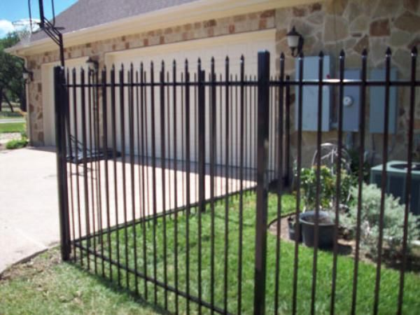 Pressed Spear Wrought Iron Fences Apple Fence Company DEES