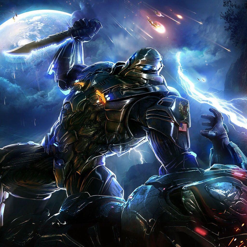 Sci Fi Close Combat Superhero Wallpaper Pc Games Wallpapers Robot Wallpaper