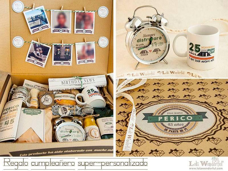 Regalos Personalizados Con Fotos Para Hombres.Lola Wonderful Blog Regalos Super Personalizados Para Todas