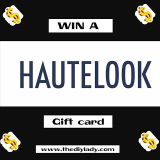 The do it yourself lady giveaway win a 25 hautelook gift card the do it yourself lady giveaway win a 25 hautelook gift card solutioingenieria Gallery