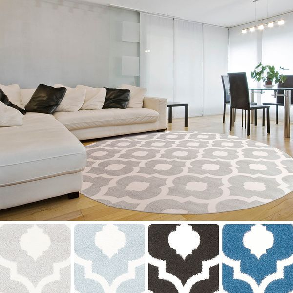 Zephyr Contemporary Trellis Area Rug With Images Rugs In