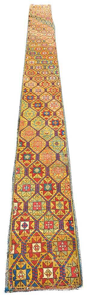 "Genge (Caucassian) - Late 19C, 15'x1'3"""