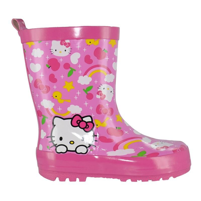 Youth girls rain boot by HELLO KITTY | $35.99 @ The Shoe Company ...