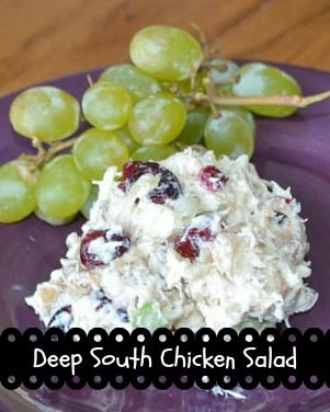 Deep South Chicken Salad #summersouthernfood