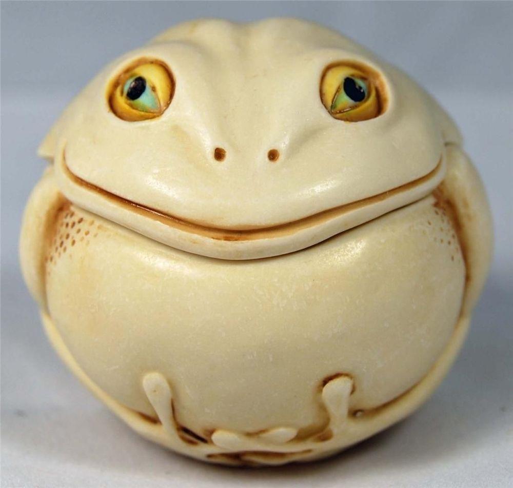 MIB Harmony Kingdom Roly Poly Divine Frog Adam Binder