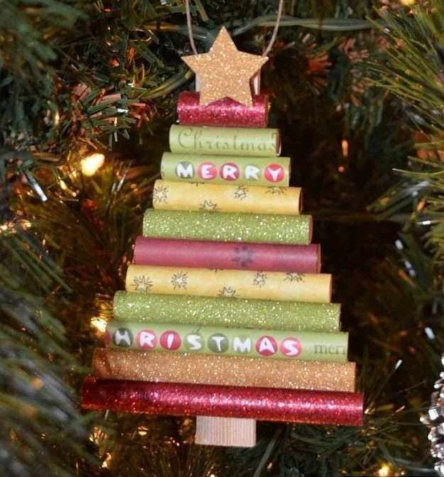 Homemade Christmas Ornaments Homemade christmas ornaments, Rolled