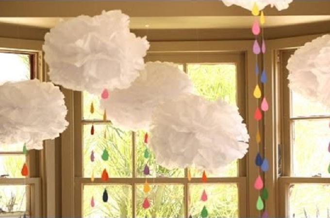 comment fabriquer une pluie arc en ciel trucs et. Black Bedroom Furniture Sets. Home Design Ideas