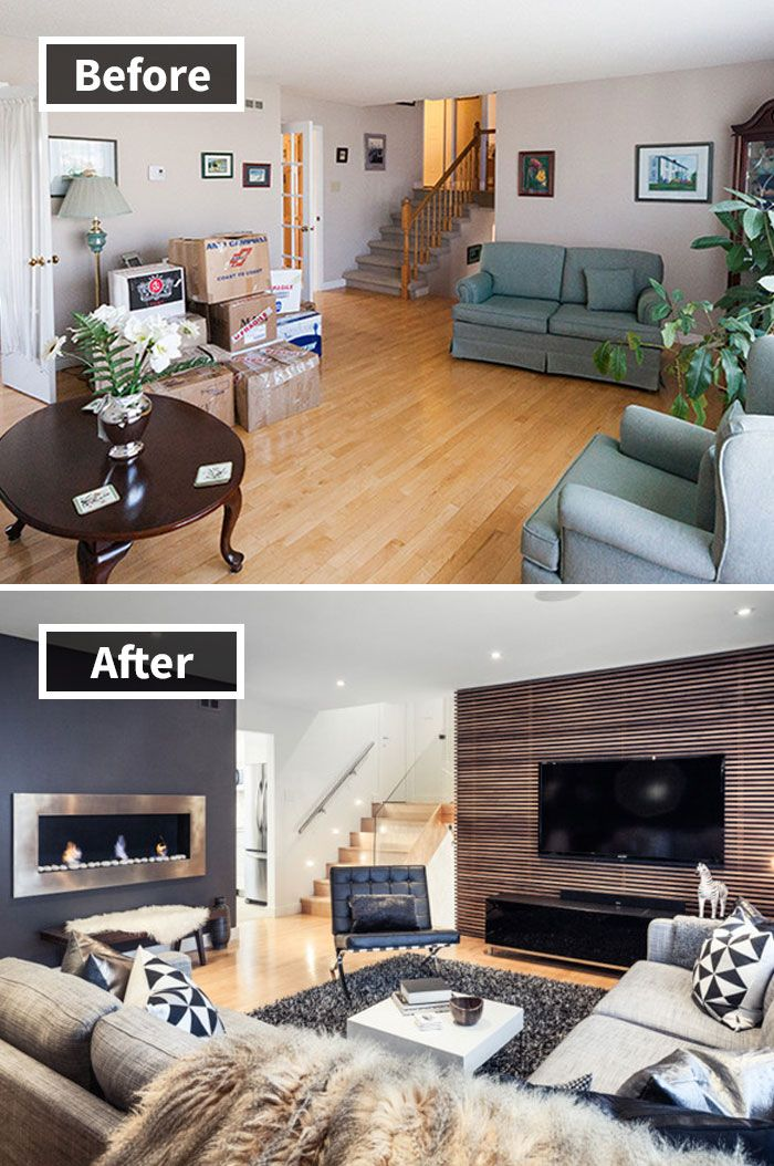 Apartment Interior With 4 Rooms: 190 Rooms Before And After Makeover