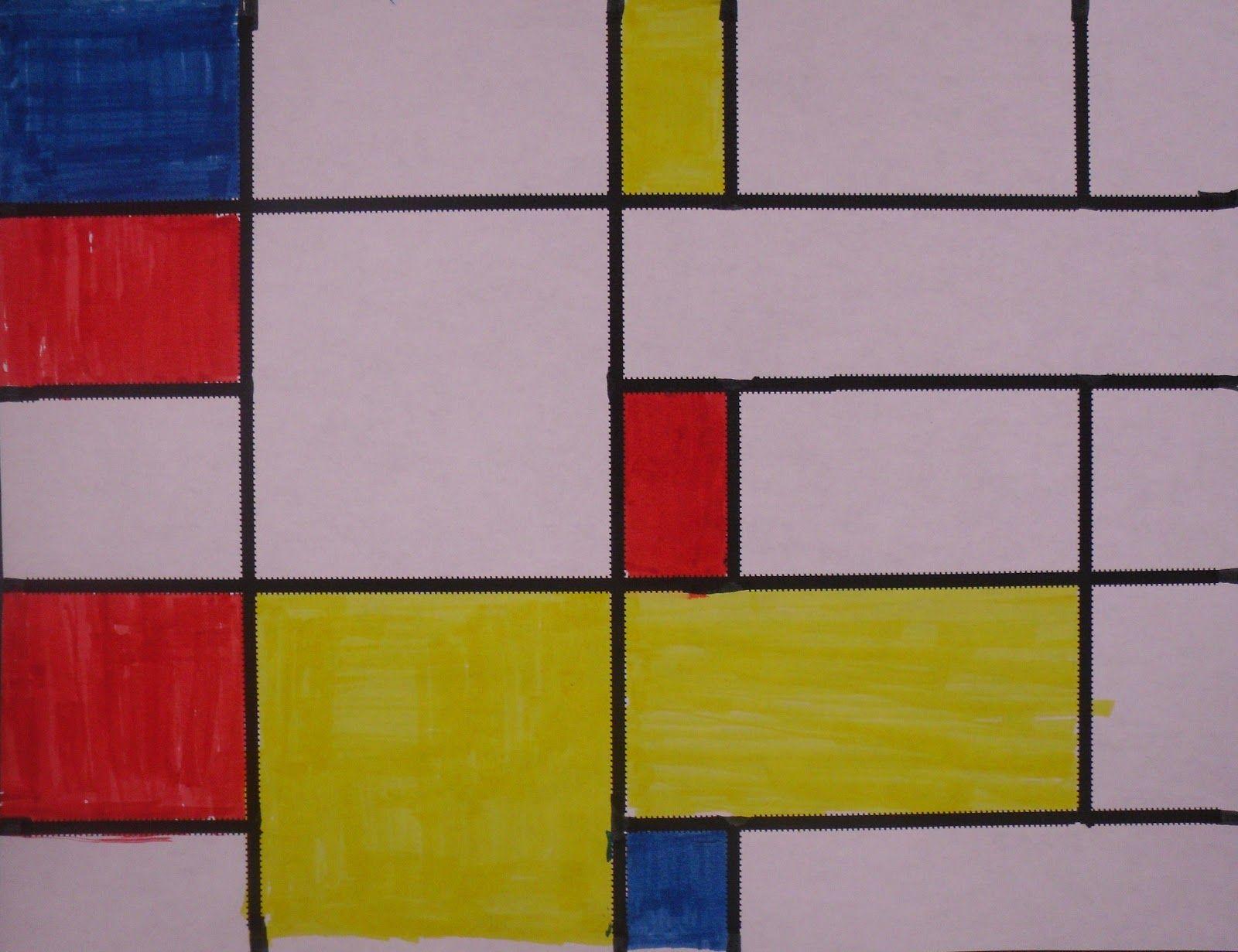 ARTventurous: Primary Colours and Piet Mondrian