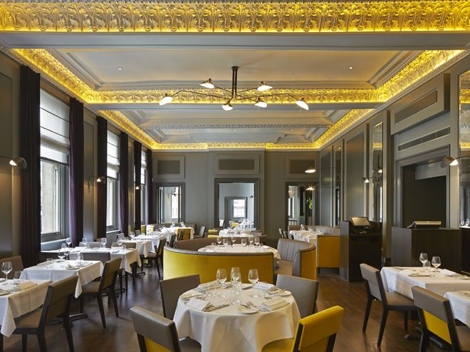 Christopheru0027s u2013 Martini Bar and Restaurant in London by De Matos - innovatives decken design restaurant