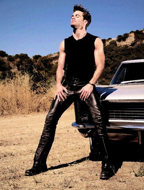 Not a lot of people can get away with leather pants.