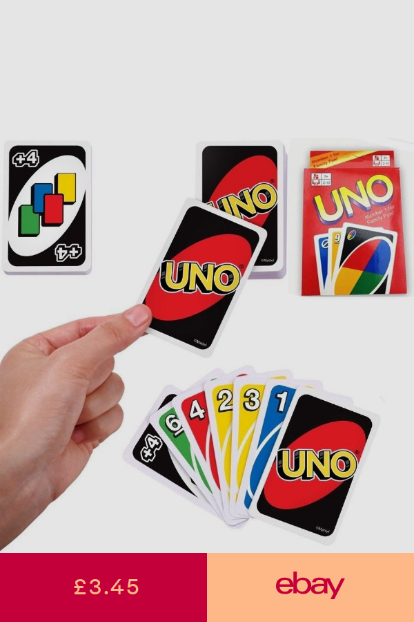 Other Poker & Card Games Toys & Games ebay Uno card