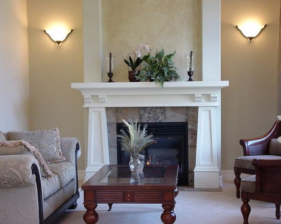Free standing fireplacehearth design