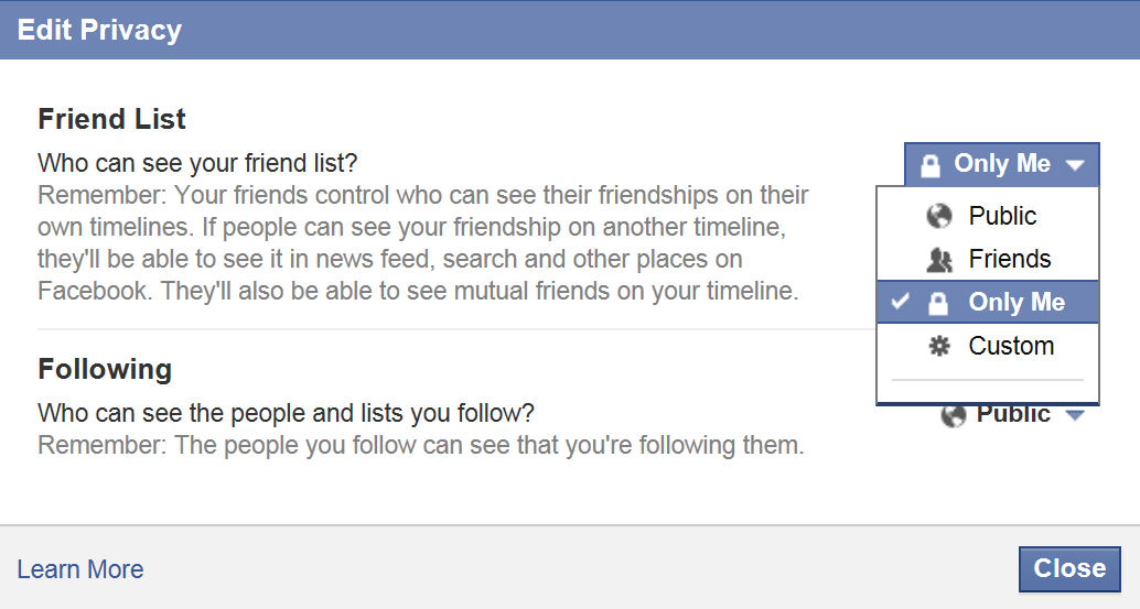 How To Hide Your Mutual Friend List On Facebook How are