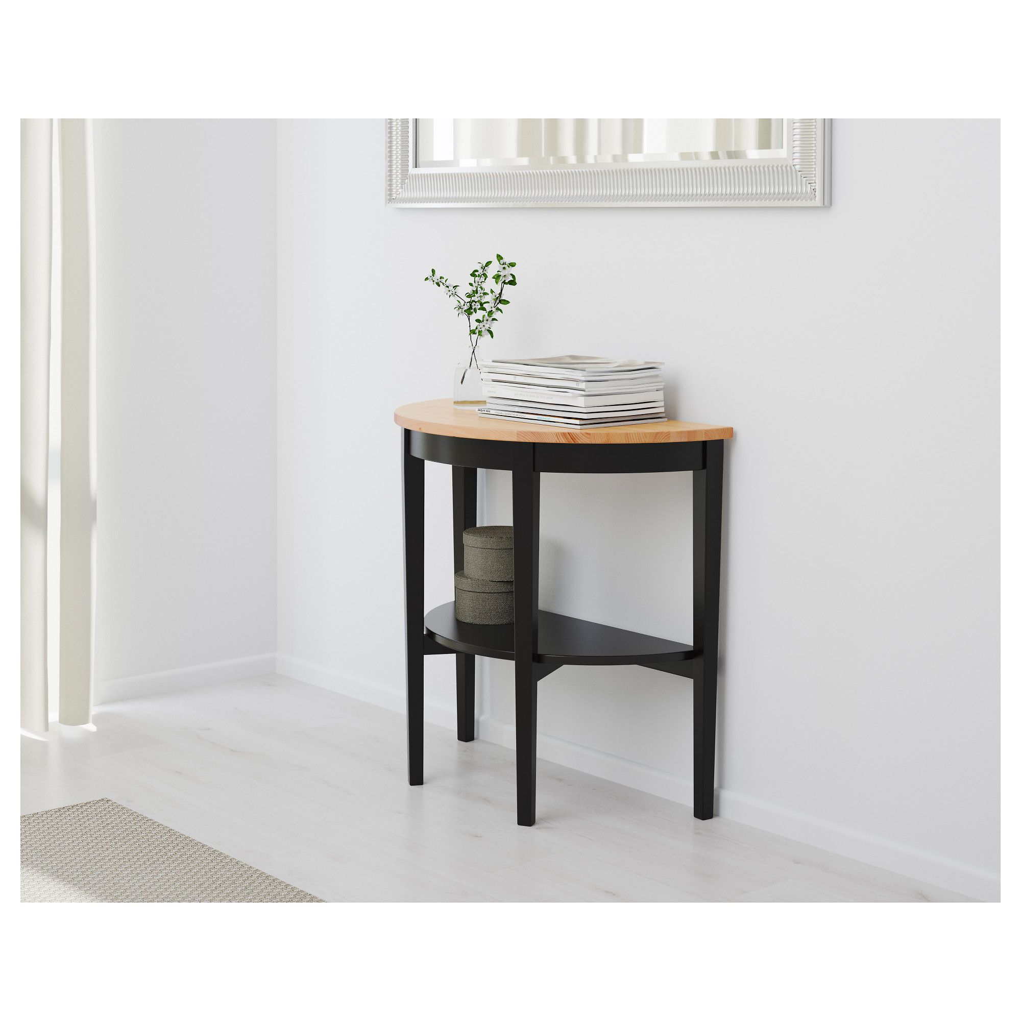 IKEA ARKELSTORP Console table black Console table