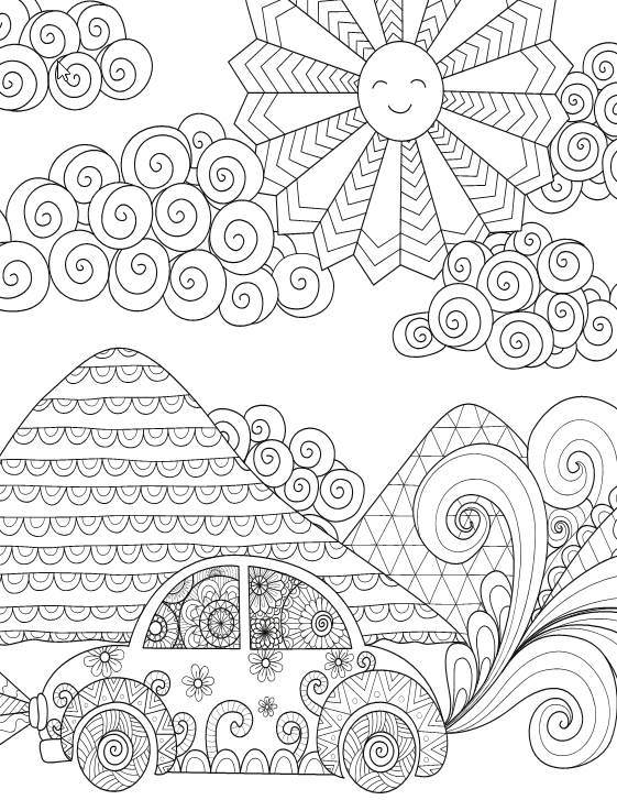 A Special Coloring Book For Girls Live Your Life In Color Series Coloring Books Book Girl Color Of Life