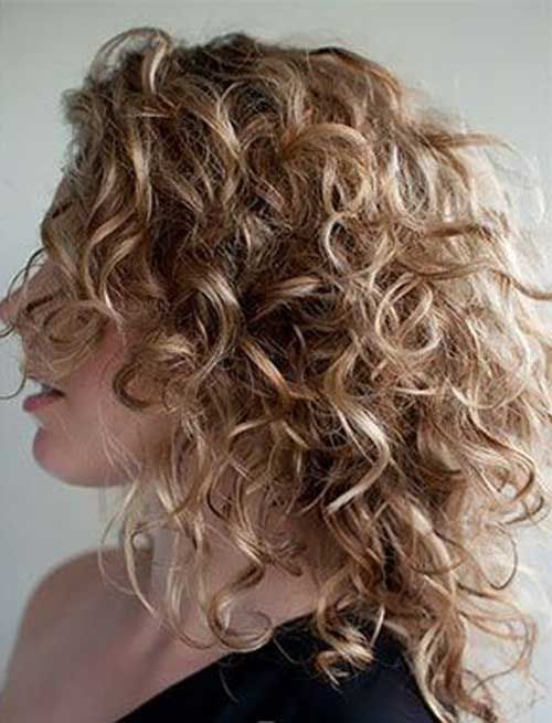 edgy curly hairstyles style