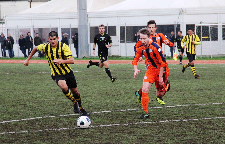vs Guaranì, Davide Isoardi (Pro Dronero) autore del gol vittoria