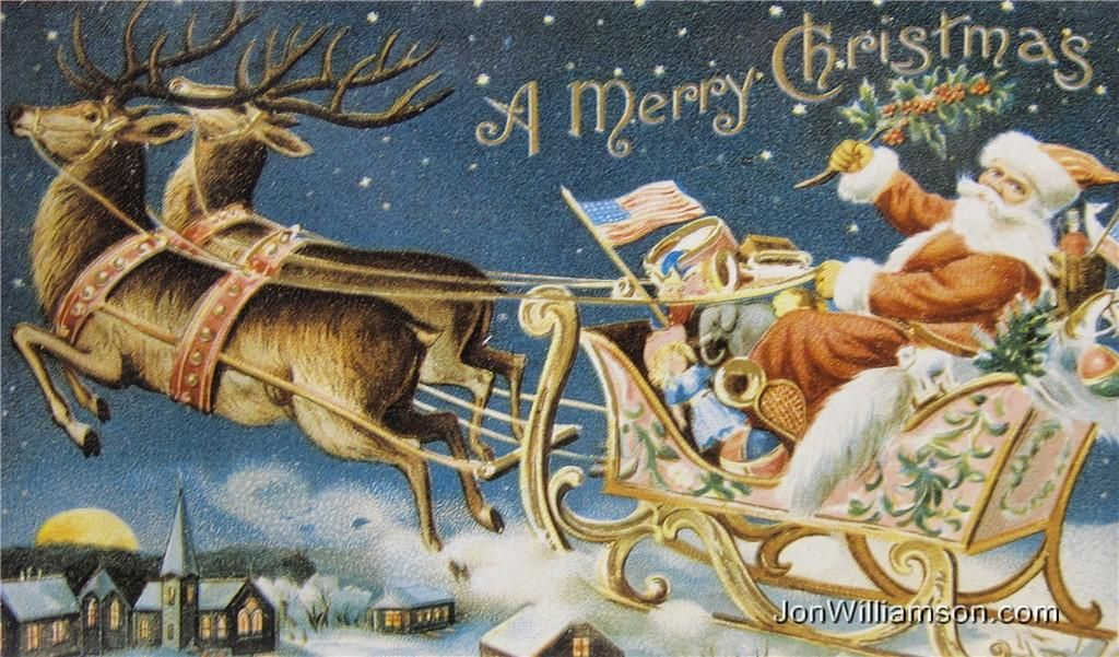 Vintage Card Here Are Some Style Christmas Cards Found