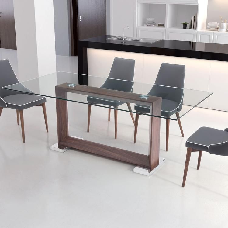 Less Is More Design As The Oasis Dining Table Features A Modern