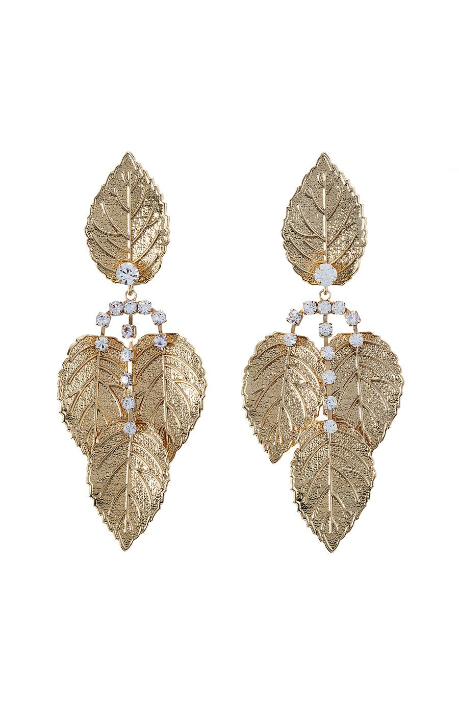 KENNETH JAY LANE - Embellished Earrings | STYLEBOP