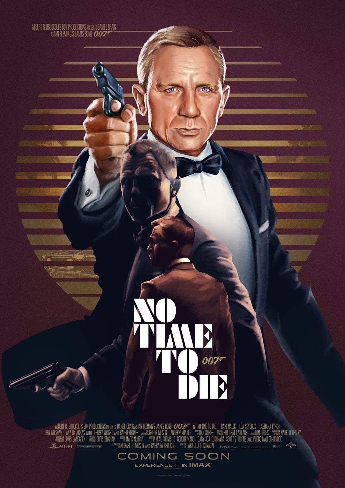 007 No Time To Die James Bond Movie Posters Bond Movies James Bond Movies