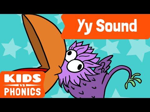 "Help your kids learn the ""Y"" phonic with this short video!"