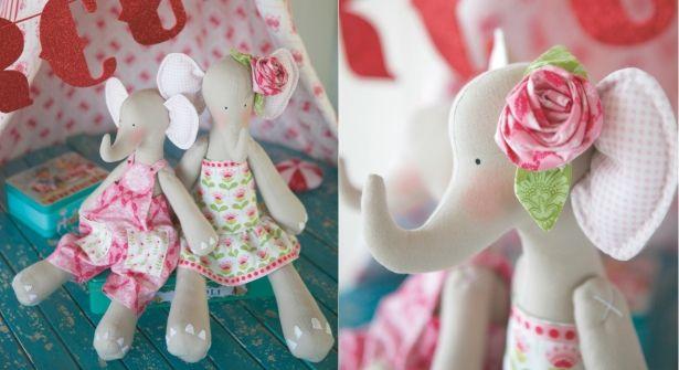 Poupées Tilda : l\'éléphant | Vintage Toys | Pinterest | Puppen ...