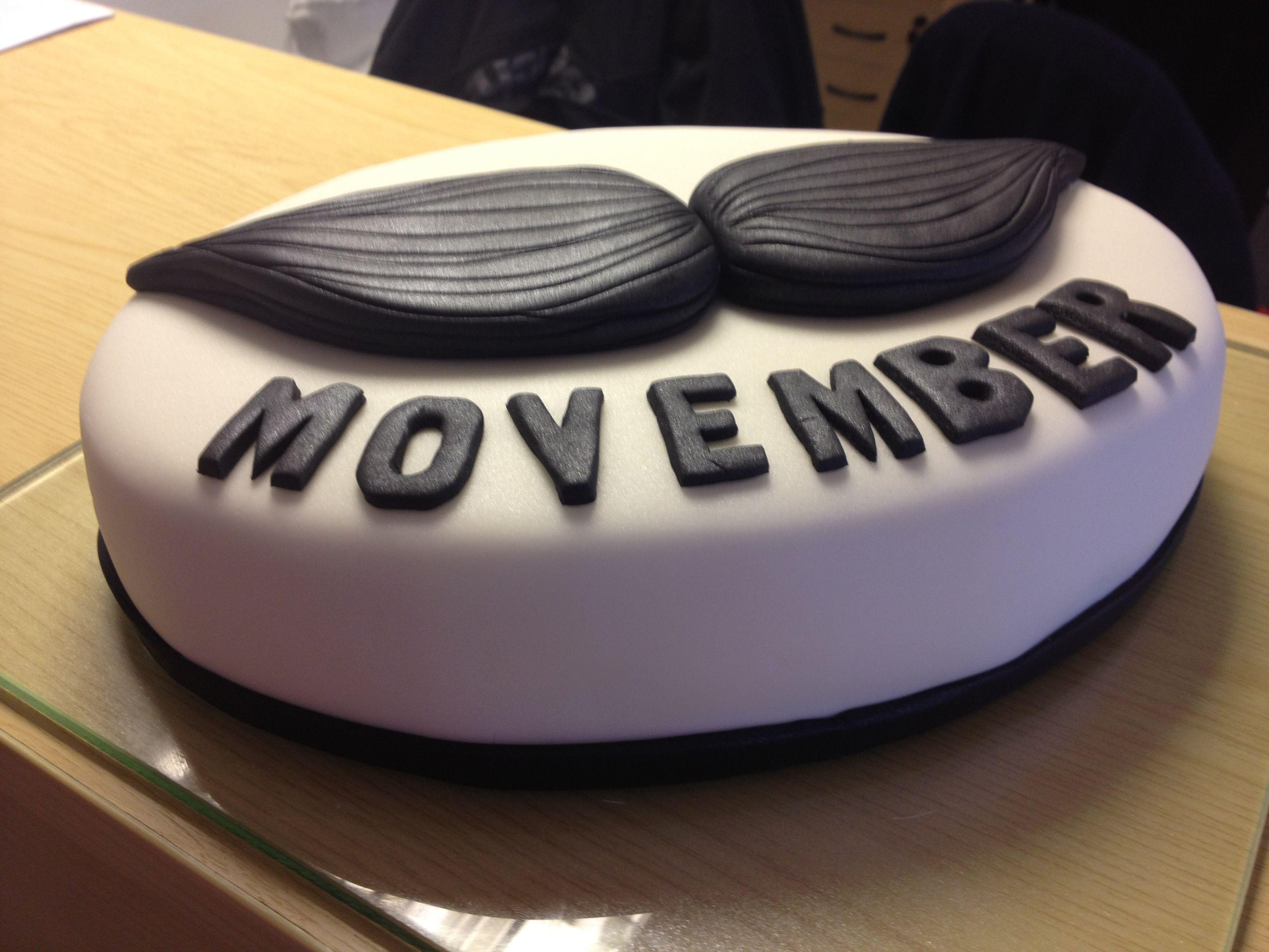 Movember Cake Raffle Prize